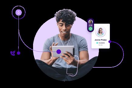 Solutions Talkdesk pour les centres de contact.
