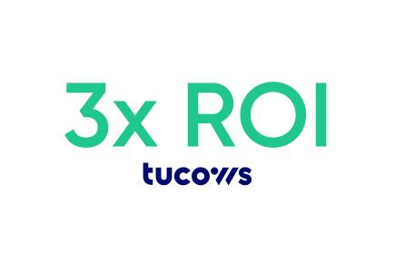 Triple-digit increase in ROI