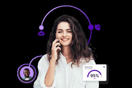 Cloud call center software for innovative enterprises.